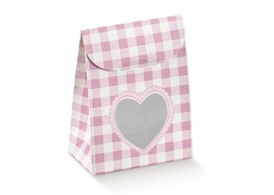Gaveæske Teddy bear rosa tern