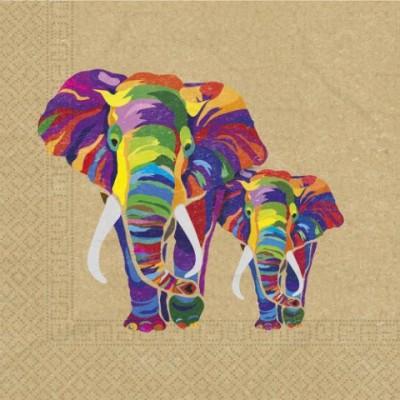 Elefant Servietter - komposterbare