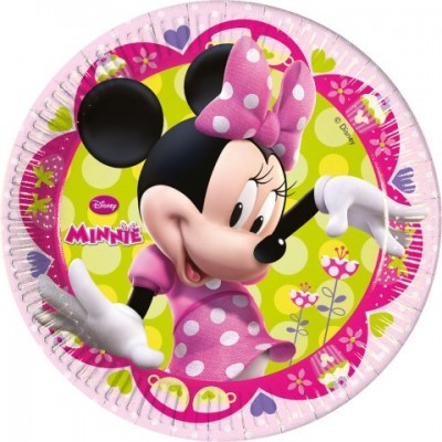 Minnie Mouse Paptallerkener