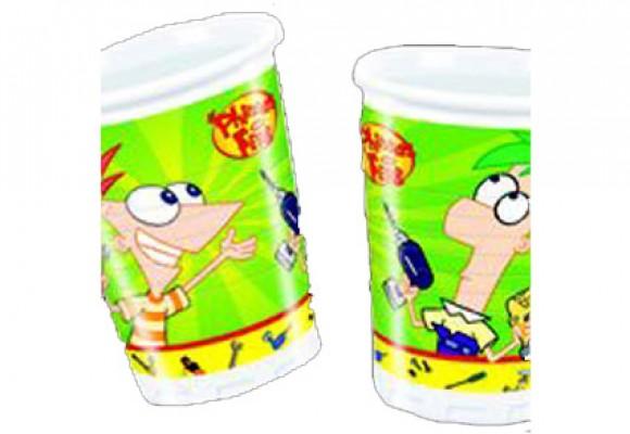 Phineas & Ferb plastikkrus