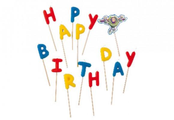 Toy Story Happy Birthday Lys