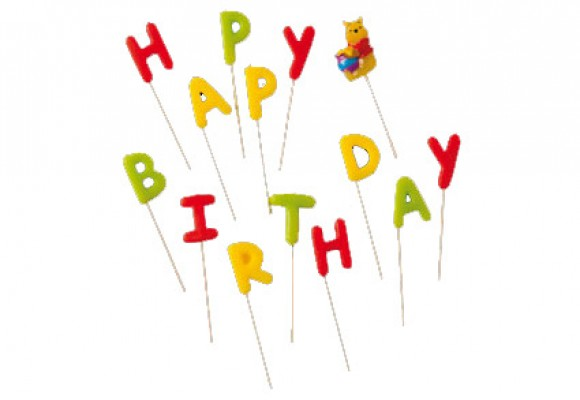 Peter Plys Happy Birthday Lys