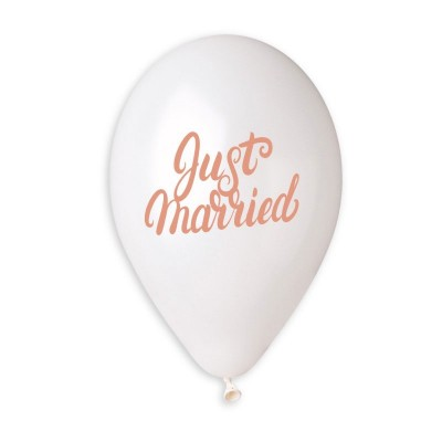 Just married Rose Gold
