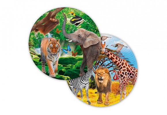 Safari Paptallerkner
