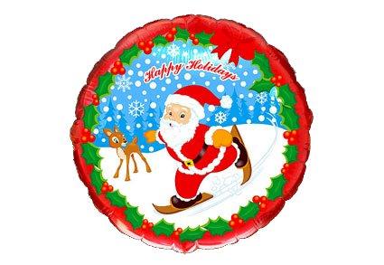 Folie balloner til jul