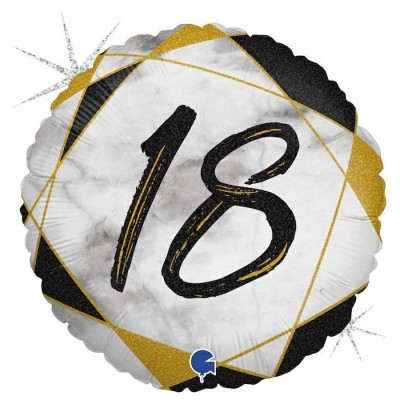18 år Marmor sort