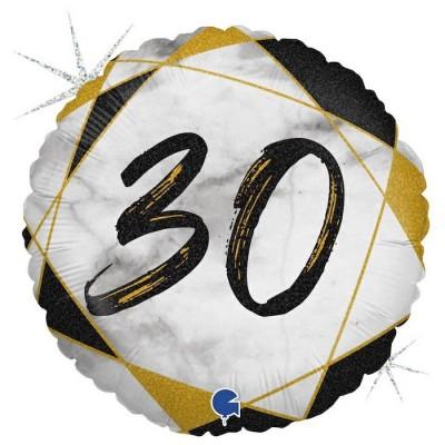 30 år Marmor sort