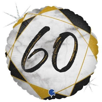 60 år Marmor sort