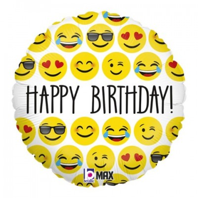Emoji Happy Birthday