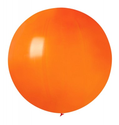 Mega ballon Orange