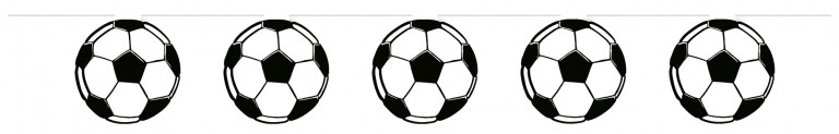 Guirlande Fodbolde