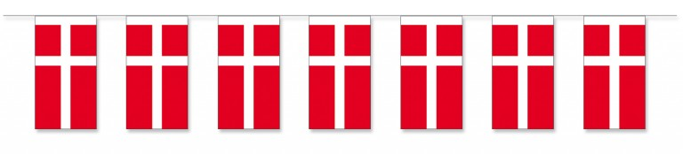 Guirlande Danske Flag