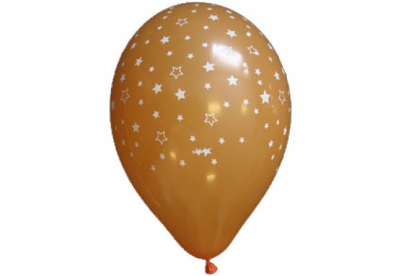 Balloner med stjernemotiv