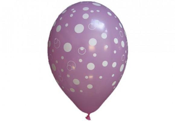 Balloner med prikker motiv
