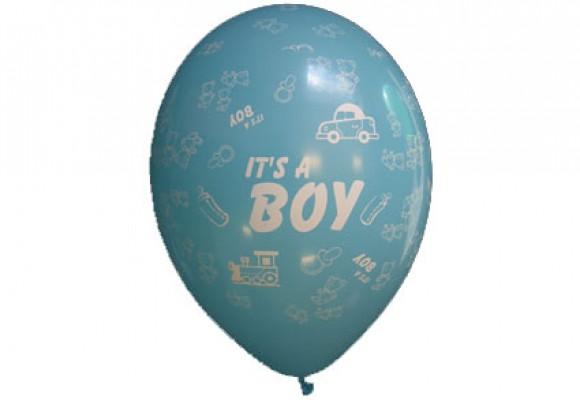 Balloner med It's a boy motiv