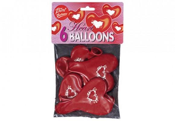 Hjerte på hjerteballon