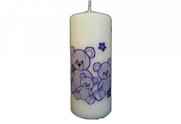 Bloklys bamser lilla