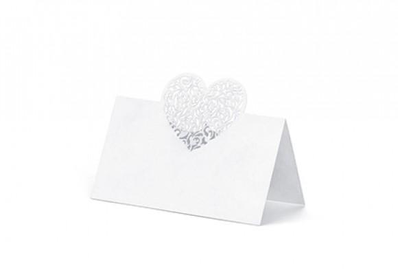 Bordkort hjerte
