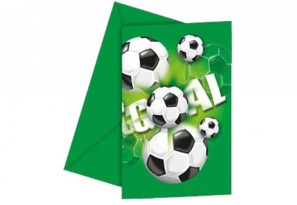 Fodbold Invitation