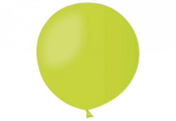 Stor ballon limegrøn 17