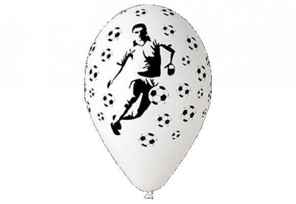 Balloner med Fodboldspiller - NYHED