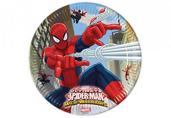 Spiderman Paptallerkener