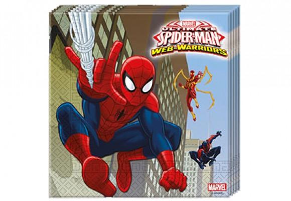 Spiderman Servietter