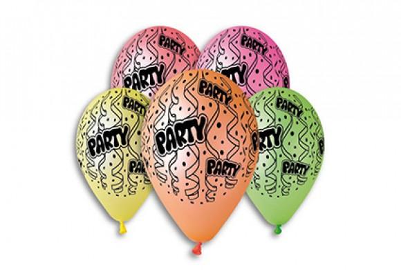 Balloner neonfarvet - Party - NYHED