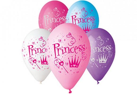 Balloner med Prinsesse - NYHED