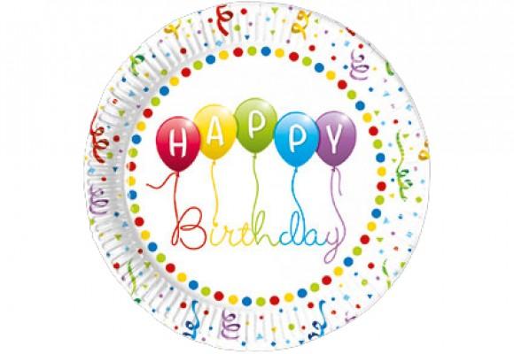 Happy Birthday Paptallerkener