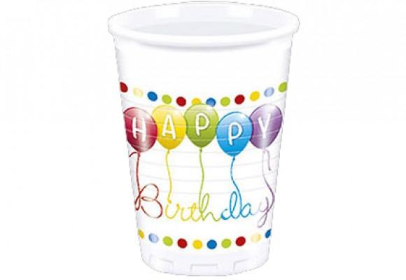 Happy Birthday Plastikkrus