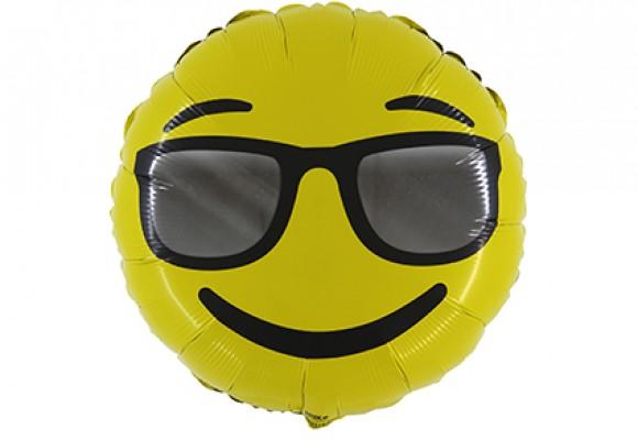 Emoji Solbrille