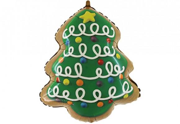 802 Juletræ Honningkage