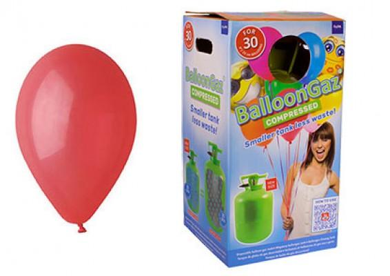 Helium kit inkl. 30 stk. røde 10