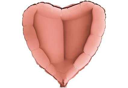 Folie balloner runde, hjerter og stjerner uden tryk