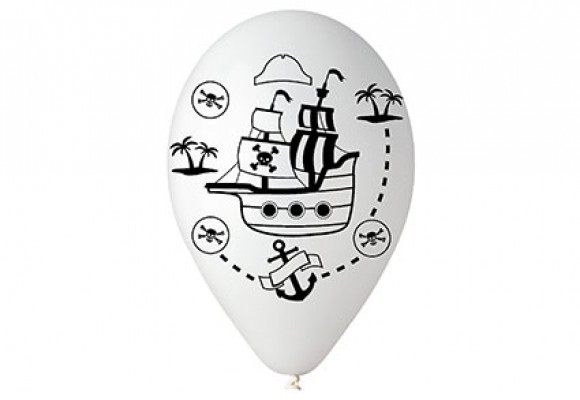 Balloner med Skattekort motiv
