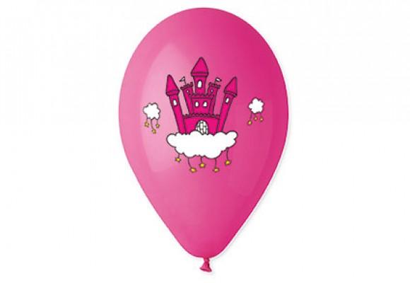 Balloner med Prinsesse slot - NYHED