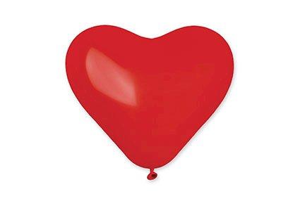 Mellem hjerteballon 28 cm