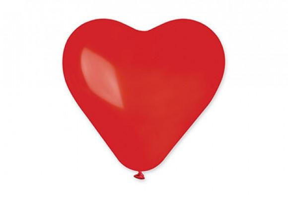 55 F Stor hjerteballon