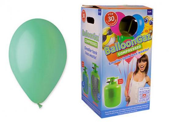 Helium kit inkl. 30 stk. mintgrøn 10