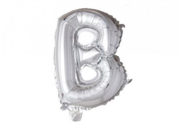 Folie bogstav ballon B
