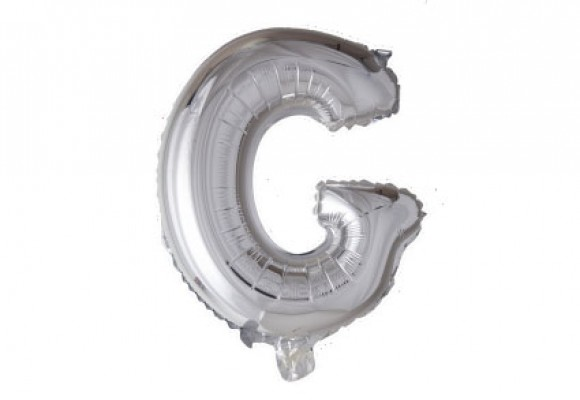 Folie bogstav ballon G