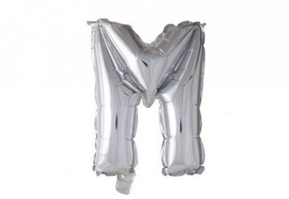 Folie bogstav ballon M