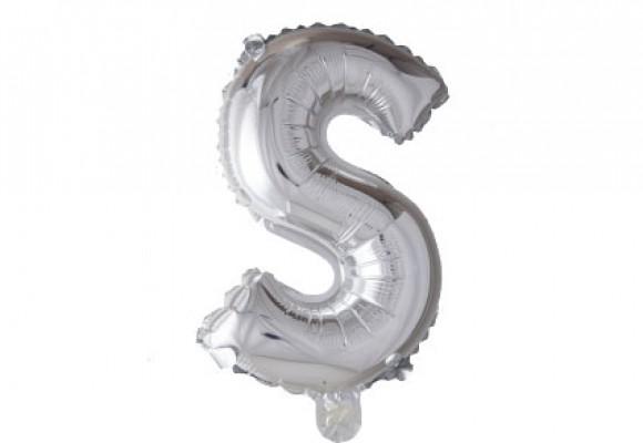 Folie bogstav ballon S