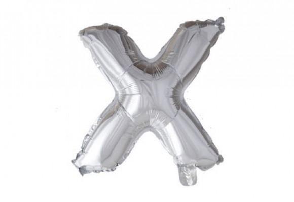 Folie bogstav ballon X