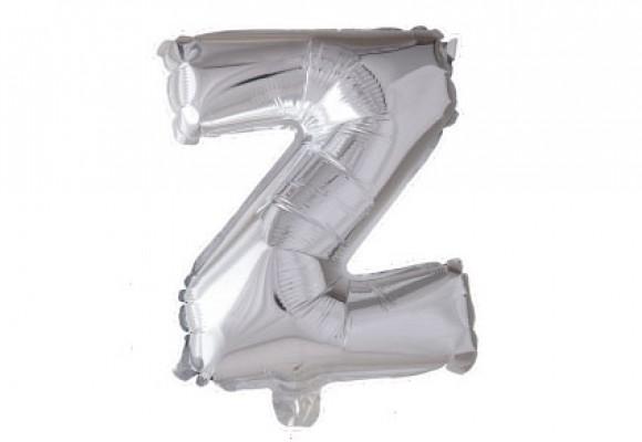 Folie bogstav ballon Z