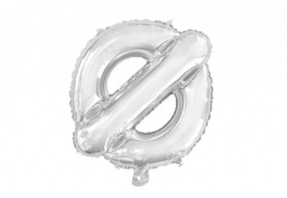 Folie bogstav ballon Ø