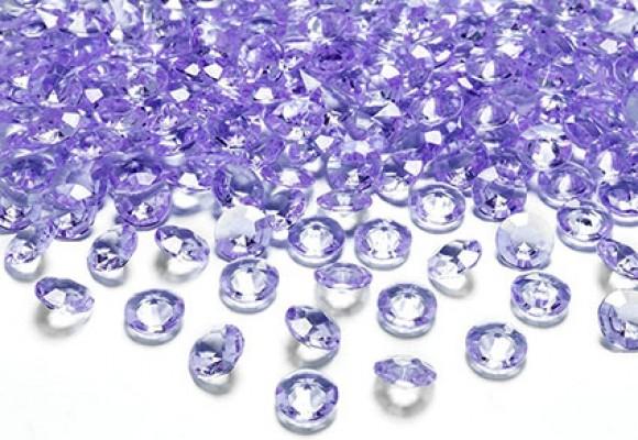 Lavendel diamant konfetti