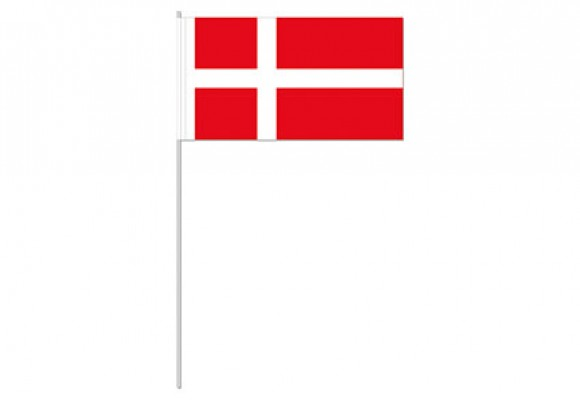 Papirflag Dannebrog