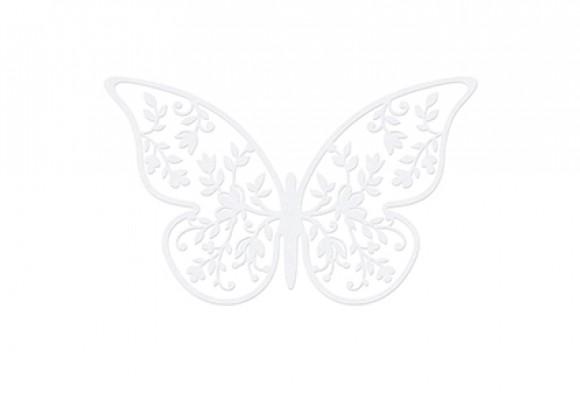 Konfetti Papirsommerfugl Blomst